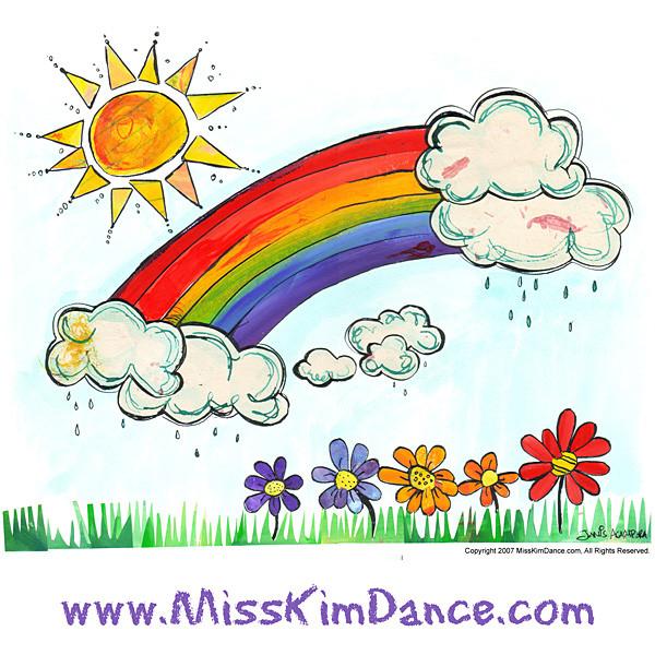 Pretend with Miss Kim Rainbow