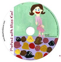 Pretend with Miss Kim DVD 1