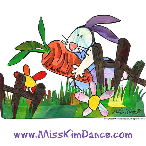 Pretend with Miss Kim Rabbit
