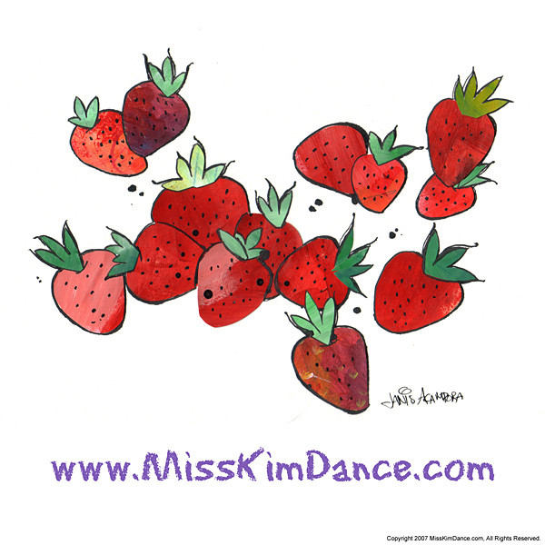 Pretend with Miss Kim Strawberries
