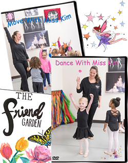 Dance and Creative Movement DVDs / Children's Book!